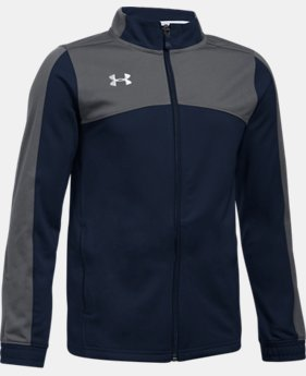 Boys' UA Futbolista Soccer Track Jacket  1  Color Available $64.99