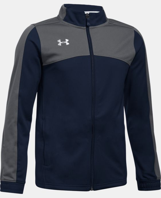 New Arrival  Boys' UA Futbolista Soccer Track Jacket LIMITED TIME: FREE SHIPPING 5 Colors $64.99