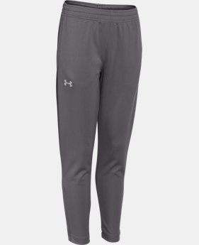Boys' UA Futbolista Soccer Track Pants  1 Color $41.99