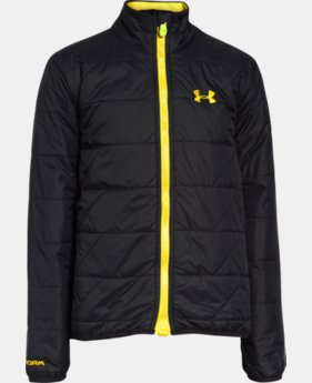 Boys' UA Storm ColdGear® Infrared Micro Jacket  1 Color $74.99