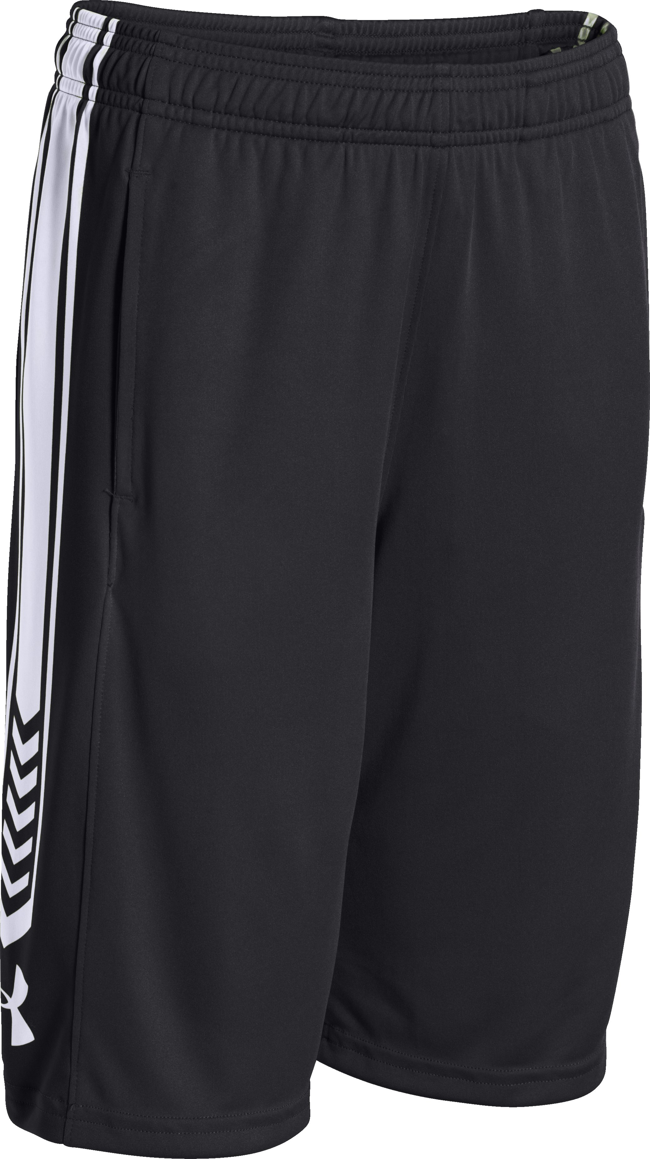 Boys' UA Disruptor Shorts, Black , zoomed image