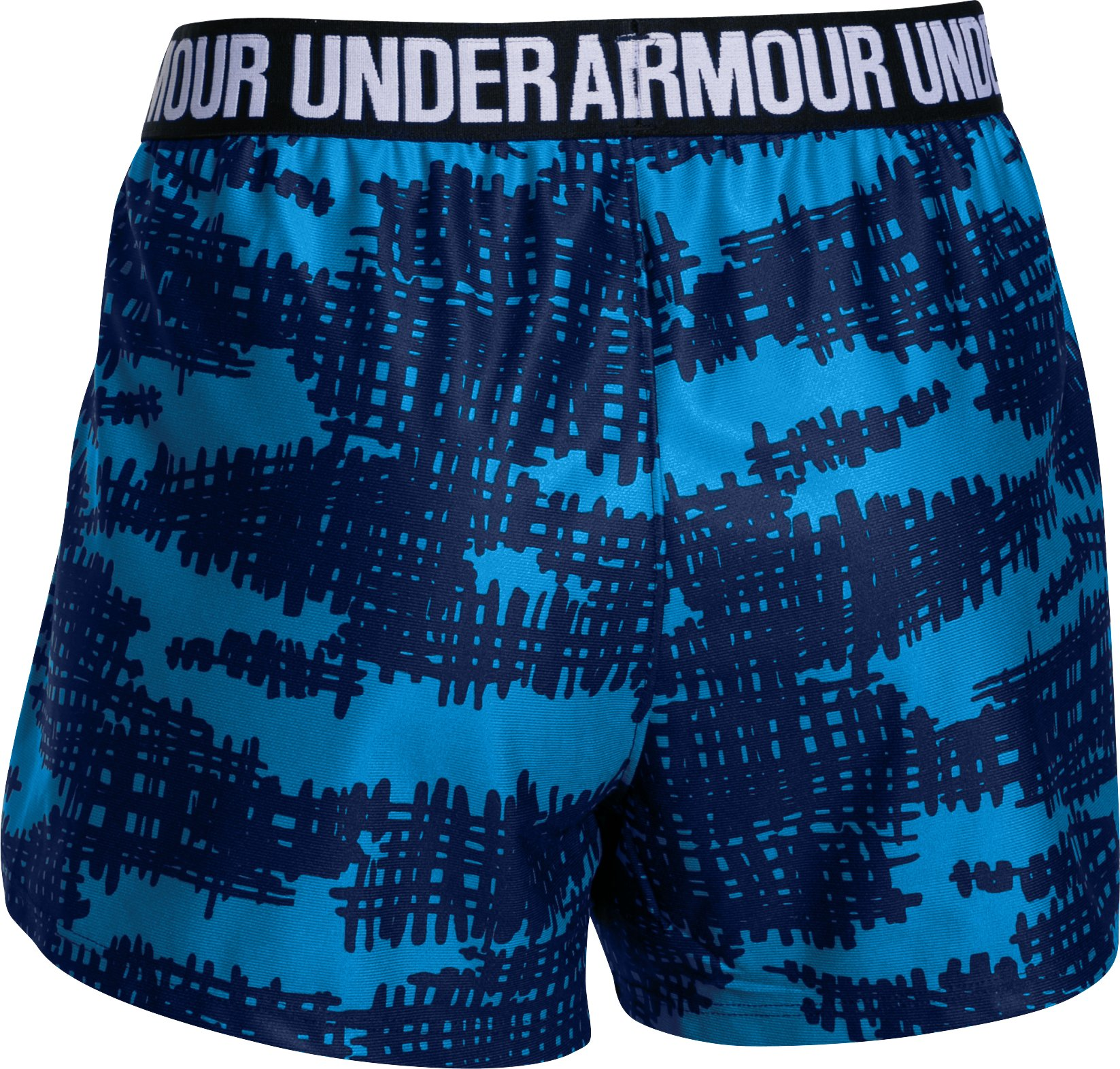 Women's UA Play Up Short - Graphic, NAVY SEAL, undefined