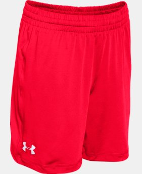 Best Seller Boy's UA Team Raid Shorts LIMITED TIME: FREE SHIPPING 1 Color $19.99