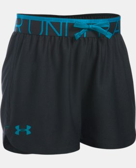 Girls' UA Play Up Shorts  1 Color $24.99