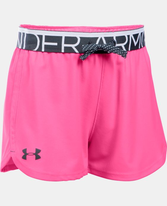 Girls' UA Play Up Shorts  7 Colors $24.99