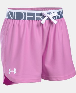 Girls' UA Play Up Shorts LIMITED TIME: FREE U.S. SHIPPING 1 Color $19.99