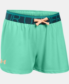 New Arrival Girls' UA Play Up Shorts   $11.99 to $14.99