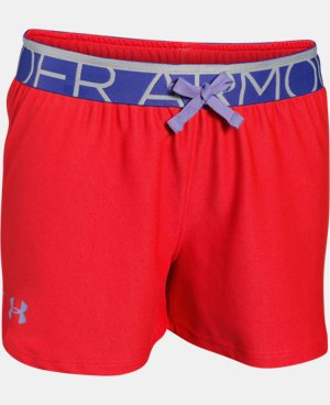 New Arrival Girls' UA Play Up Shorts LIMITED TIME: FREE U.S. SHIPPING 1 Color $8.99 to $11.24