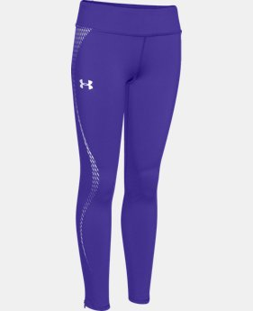 Girls' UA ColdGear® Reflective Leggings  1 Color $31.49