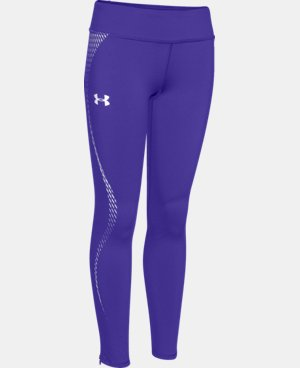 Girls' UA ColdGear® Reflective Legging LIMITED TIME OFFER + FREE U.S. SHIPPING  $41.24