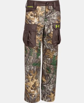 Boys' UA Storm Scent Control Barrier Pants LIMITED TIME: FREE U.S. SHIPPING 1 Color $62.24