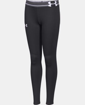 Girls' UA HeatGear® Armour Legging  4 Colors $20.99 to $26.99