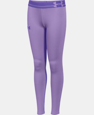 Girls' UA HeatGear® Armour Legging LIMITED TIME: FREE U.S. SHIPPING 3 Colors $20.24