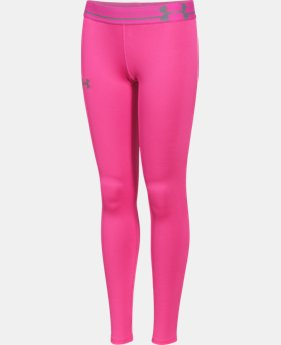 Girls' UA HeatGear® Armour Legging  1 Color $20.99 to $26.99
