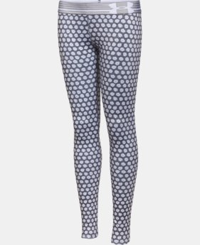 Girls' UA HeatGear® Armour Printed Legging  2 Colors $23.99 to $29.99