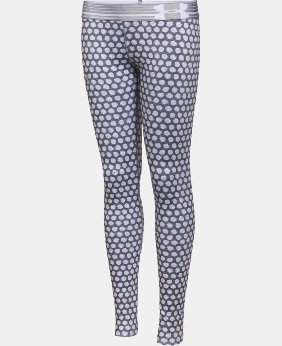 Girls' UA HeatGear® Armour Printed Legging LIMITED TIME: FREE U.S. SHIPPING 3 Colors $17.99 to $23.99