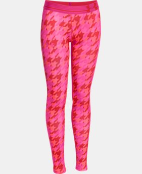Girls' UA HeatGear® Armour Printed Legging  2 Colors $39.99