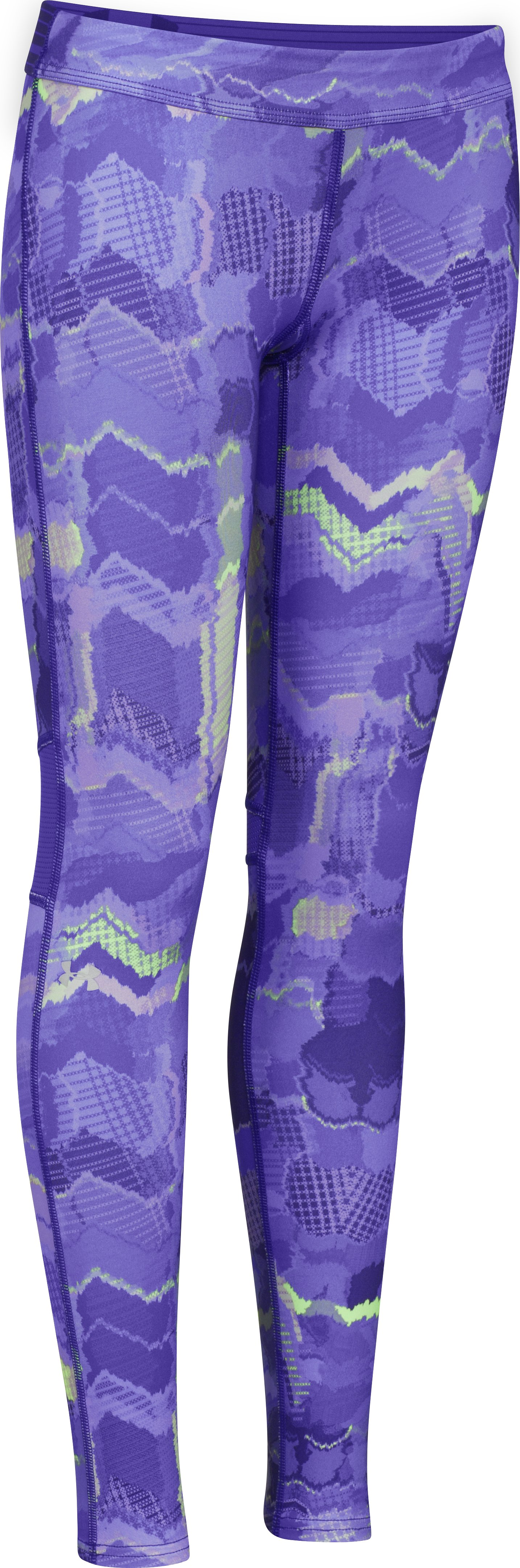 Girls' UA Catalyst Legging, EUROPA PURPLE, zoomed image