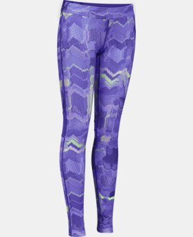 Girls' UA HeatGear® Armour Color Blocked Legging  1 Color $23.99