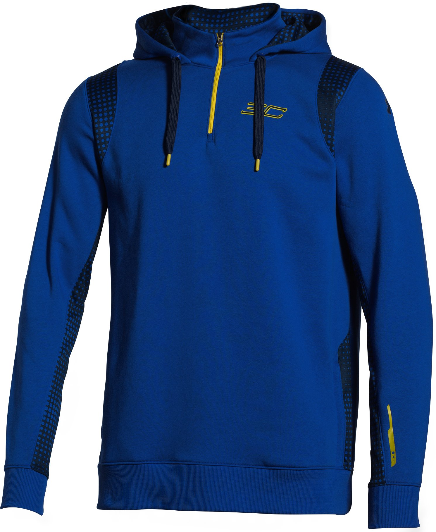 Men's UA SC30 ¼ Zip Hoodie, Royal,