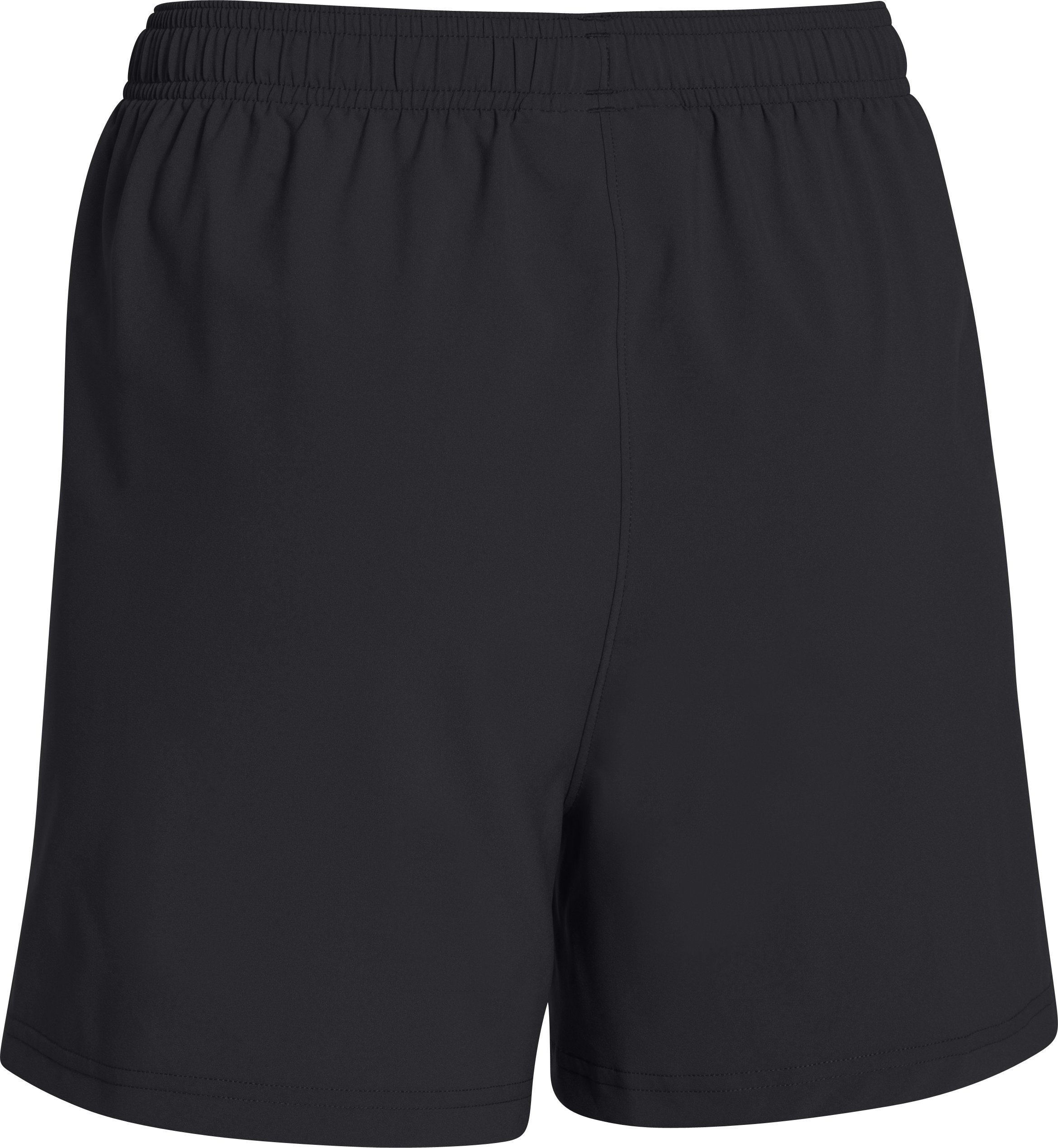 Women's UA Hustle Shorts, Black ,