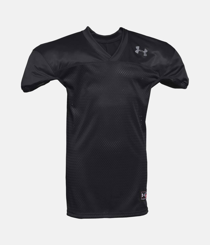 Boys 39 ua football jersey under armour us for Under armor football shirts