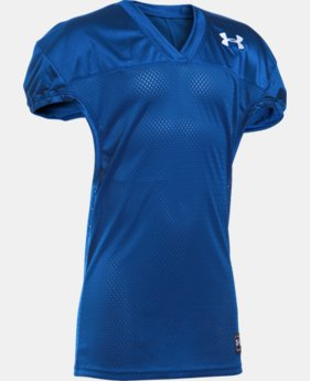 Kids' UA Football Jersey LIMITED TIME: FREE SHIPPING 2 Colors $19.99