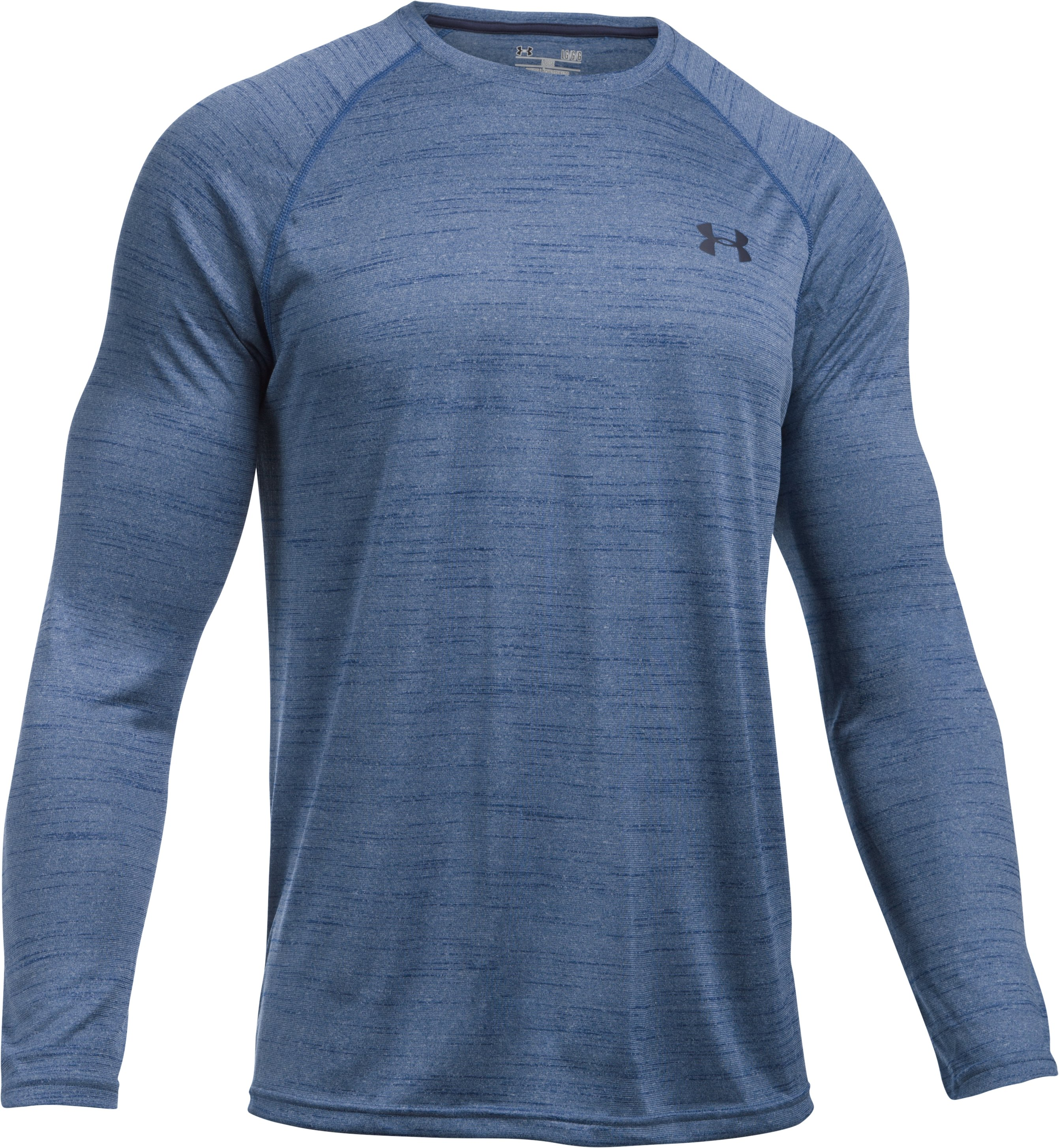 Men's UA Tech™ Patterned Long Sleeve T-Shirt, HERON, undefined