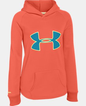 Girls' UA Storm Rival Hoodie  2 Colors $26.99 to $33.99