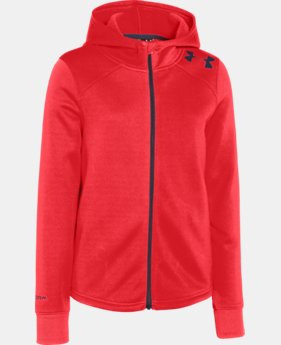 Girls' UA Isa Full Zip Hoodie  1 Color $42.99