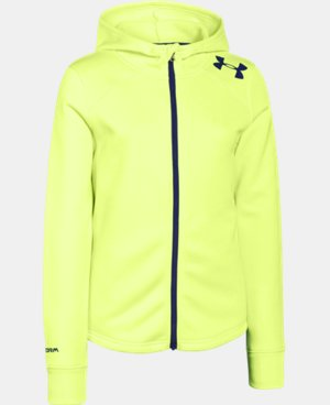 Girls' UA Isa Full Zip Hoodie LIMITED TIME: FREE U.S. SHIPPING 1 Color $32.99 to $42.99