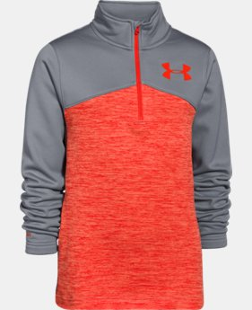 Boys' UA Gamut ¼ Zip  2 Colors $37.99