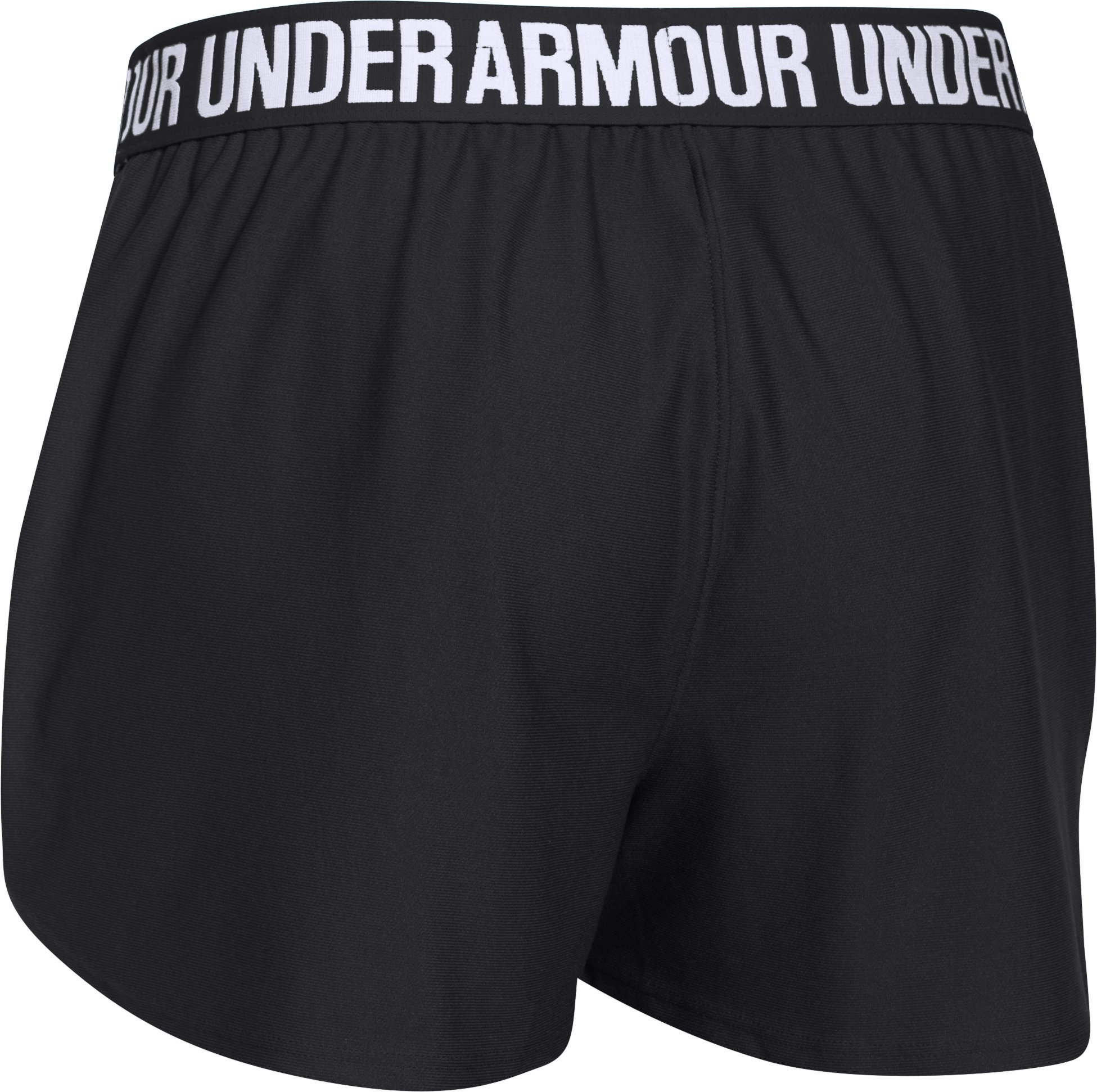 Women's UA Play Up Shorts, Black ,