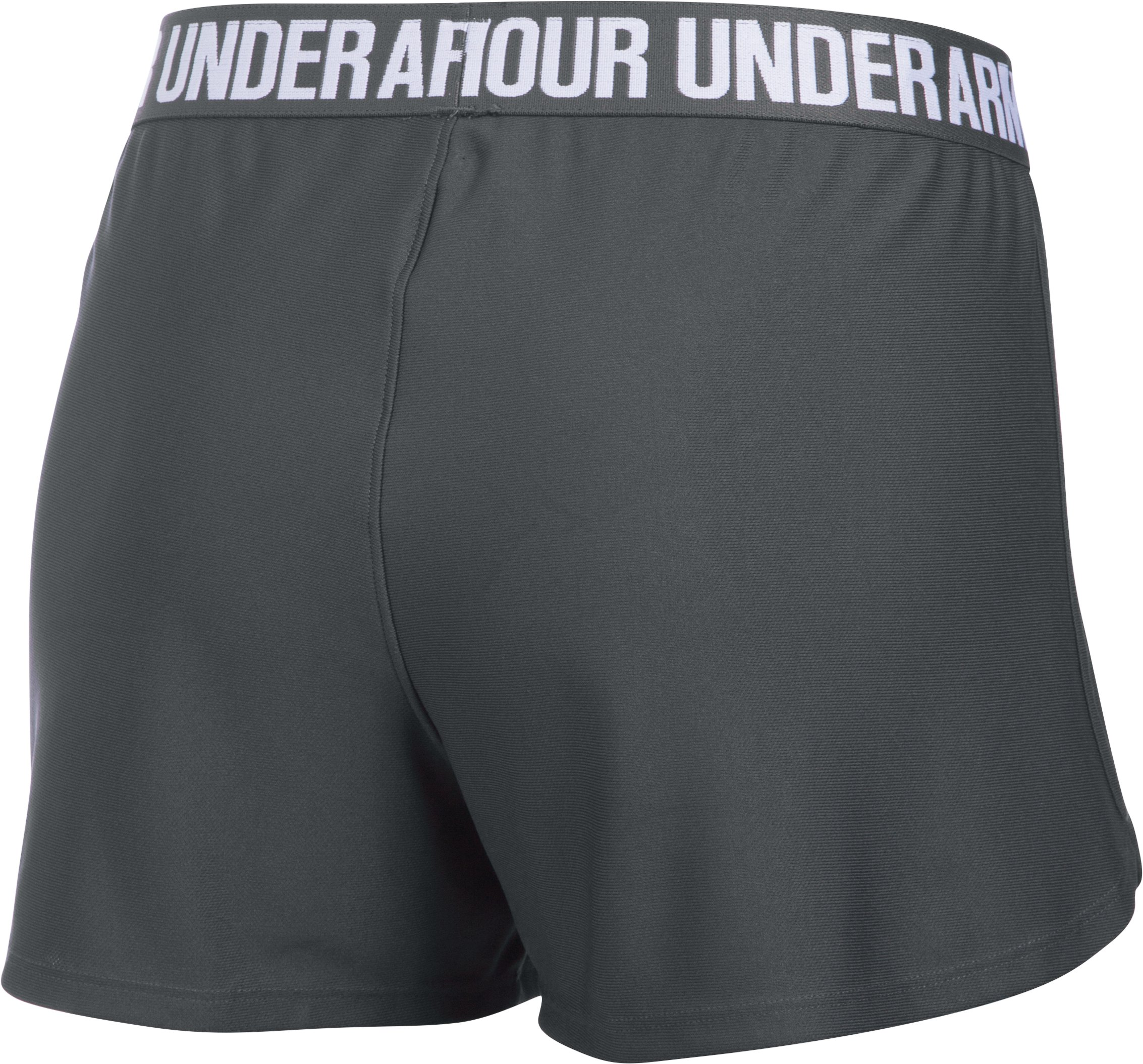 Women's UA Play Up Shorts, PHANTOM GRAY,