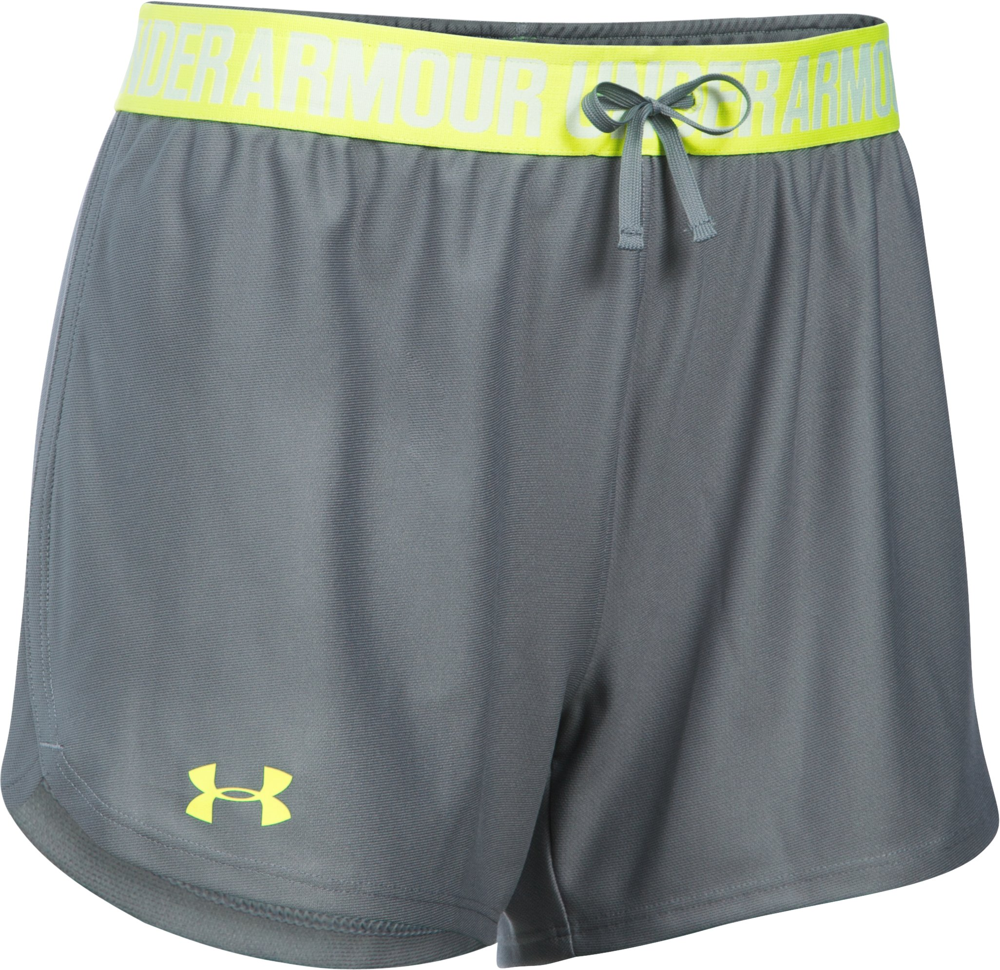 Women's UA Play Up Shorts, Steel