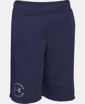 Boys' UA Rival Fleece Shorts LIMITED TIME: FREE U.S. SHIPPING 1 Color $20.99