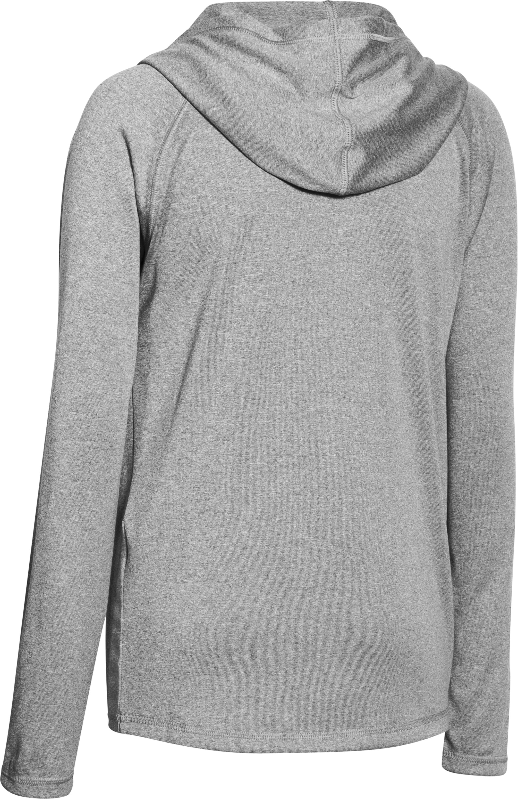 Boys' UA Tech™ Hoodie, True Gray Heather