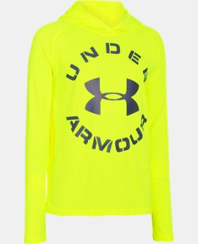 Boys' UA Tech™ Hoodie LIMITED TIME: FREE U.S. SHIPPING 1 Color $20.99 to $26.99