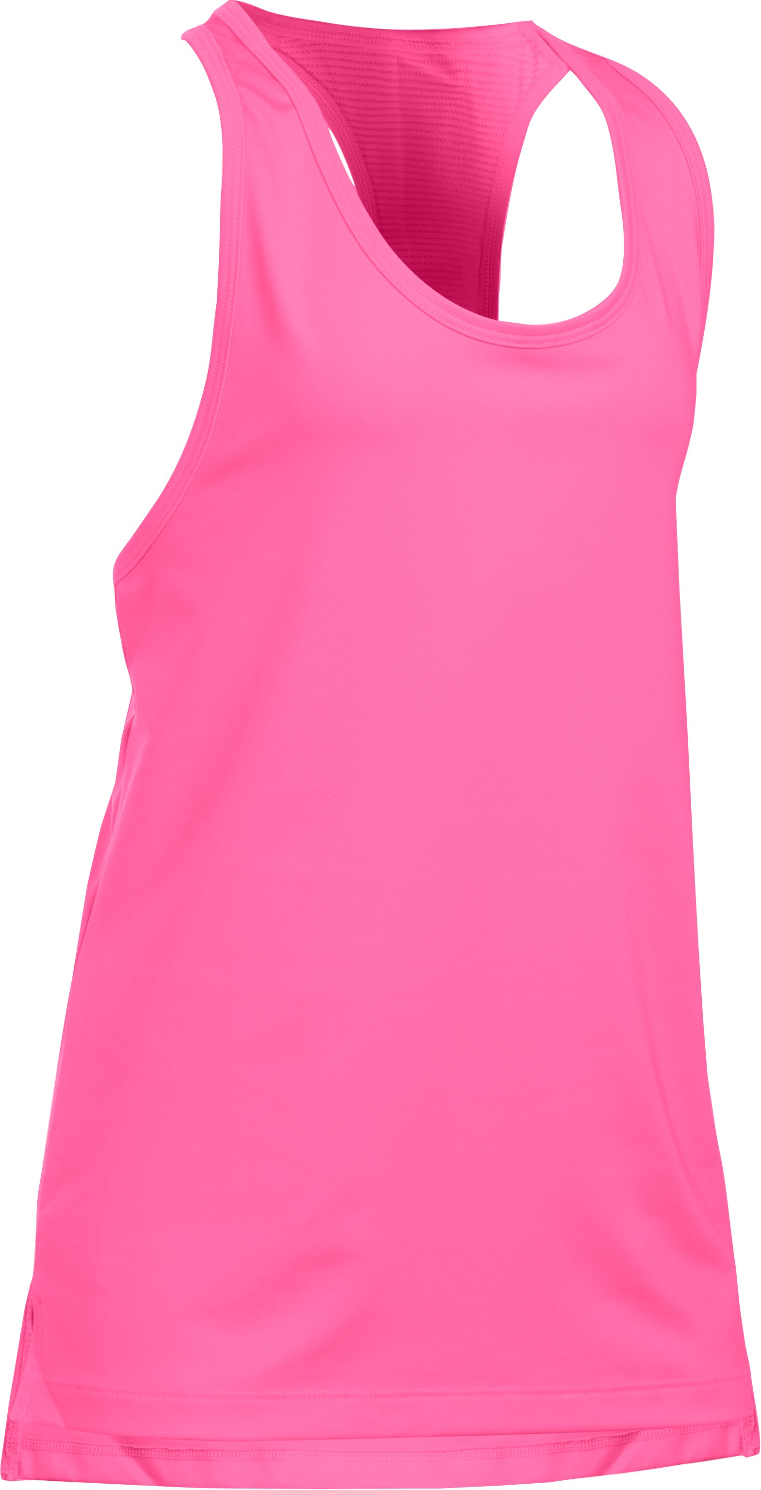 Girls' UA Luna Tank, PINK PUNK, zoomed image