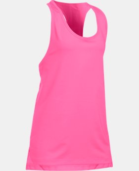 Girls' UA Luna Tank LIMITED TIME: FREE SHIPPING 1 Color $27.99