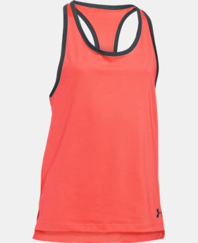 Girls' UA Luna Tank LIMITED TIME: FREE U.S. SHIPPING 2 Colors $13.49 to $17.99