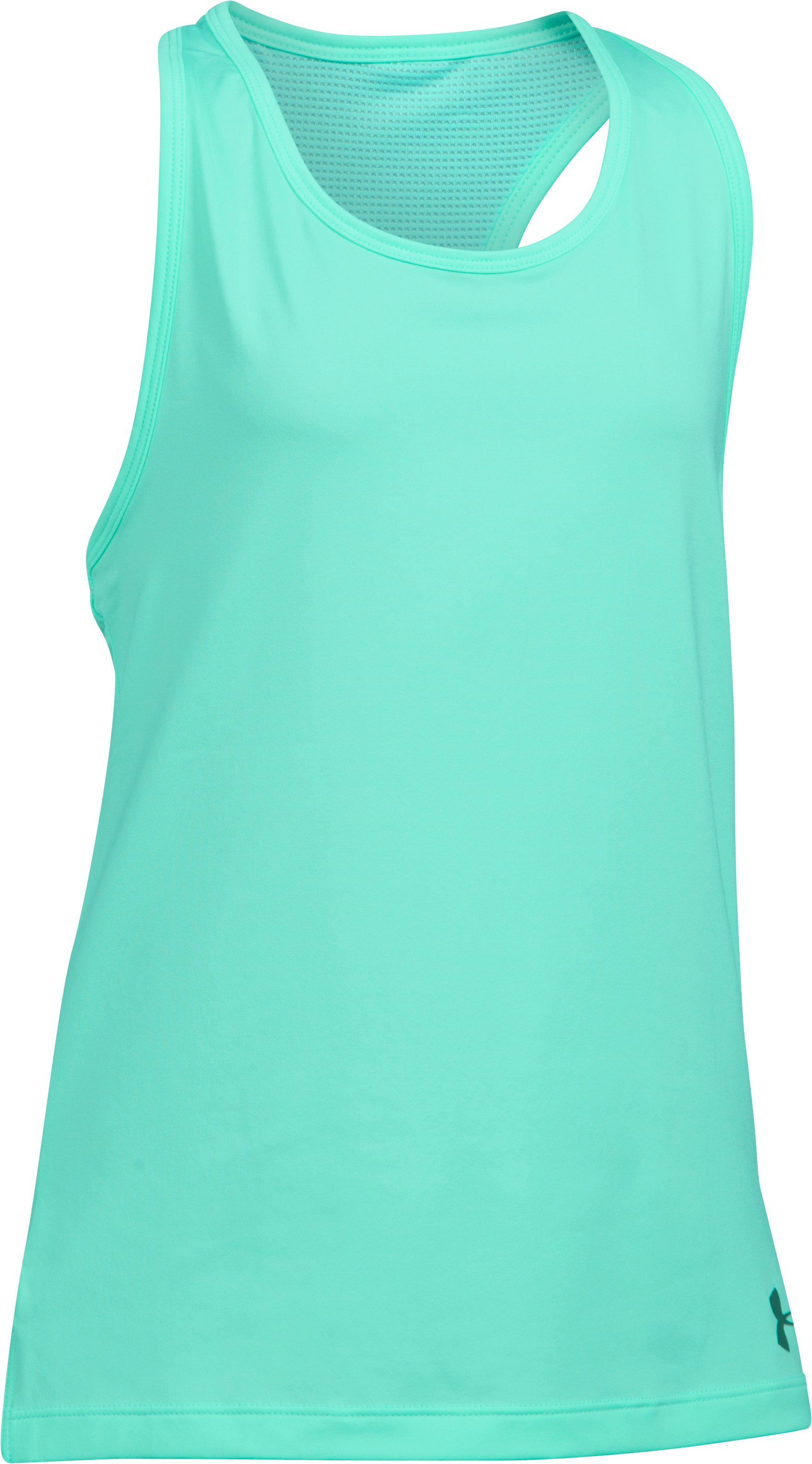 Girls' UA Luna Tank, CRYSTAL