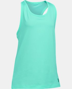 Girls' UA Luna Tank LIMITED TIME: FREE U.S. SHIPPING 1 Color $22.99
