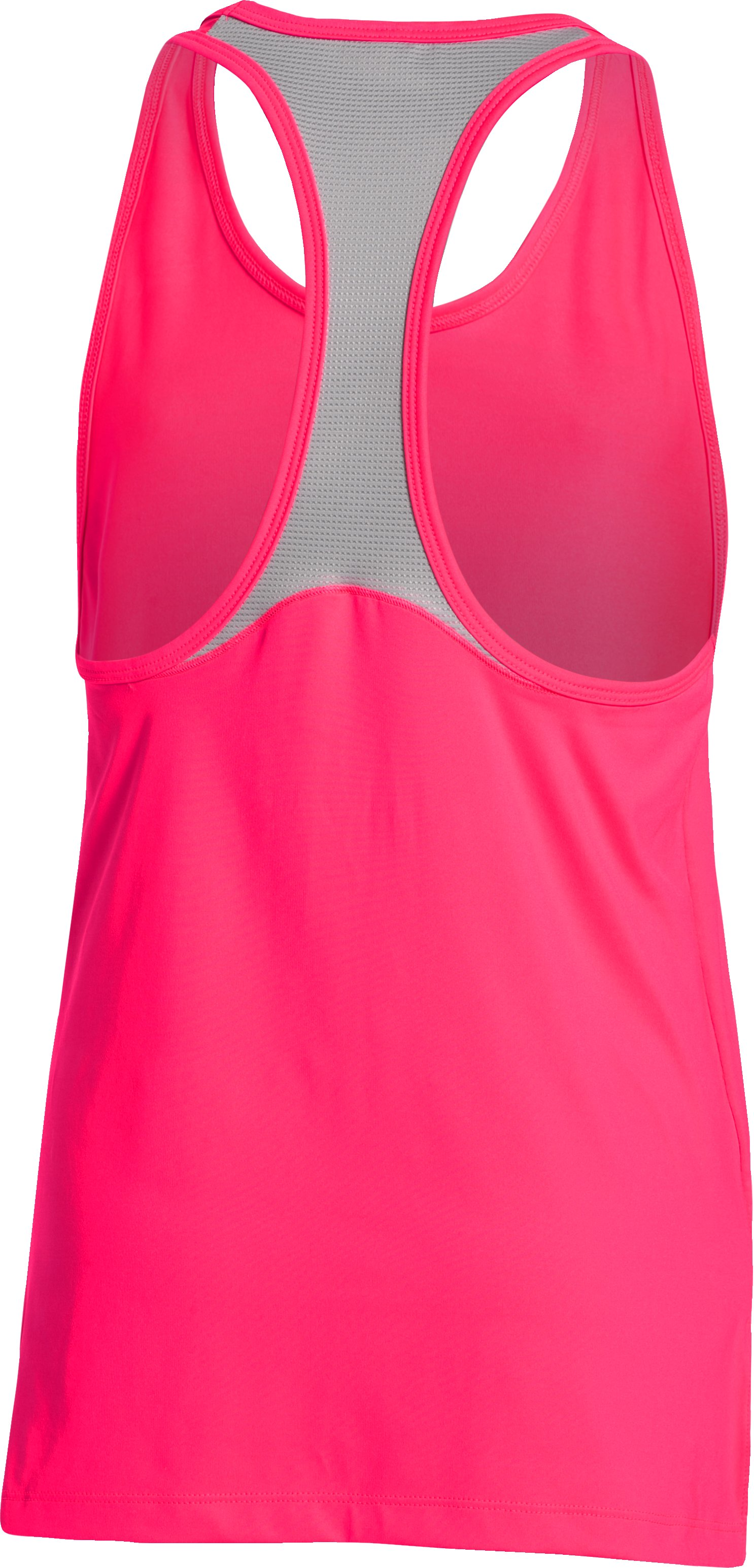 Girls' UA Luna Tank, HARMONY RED,