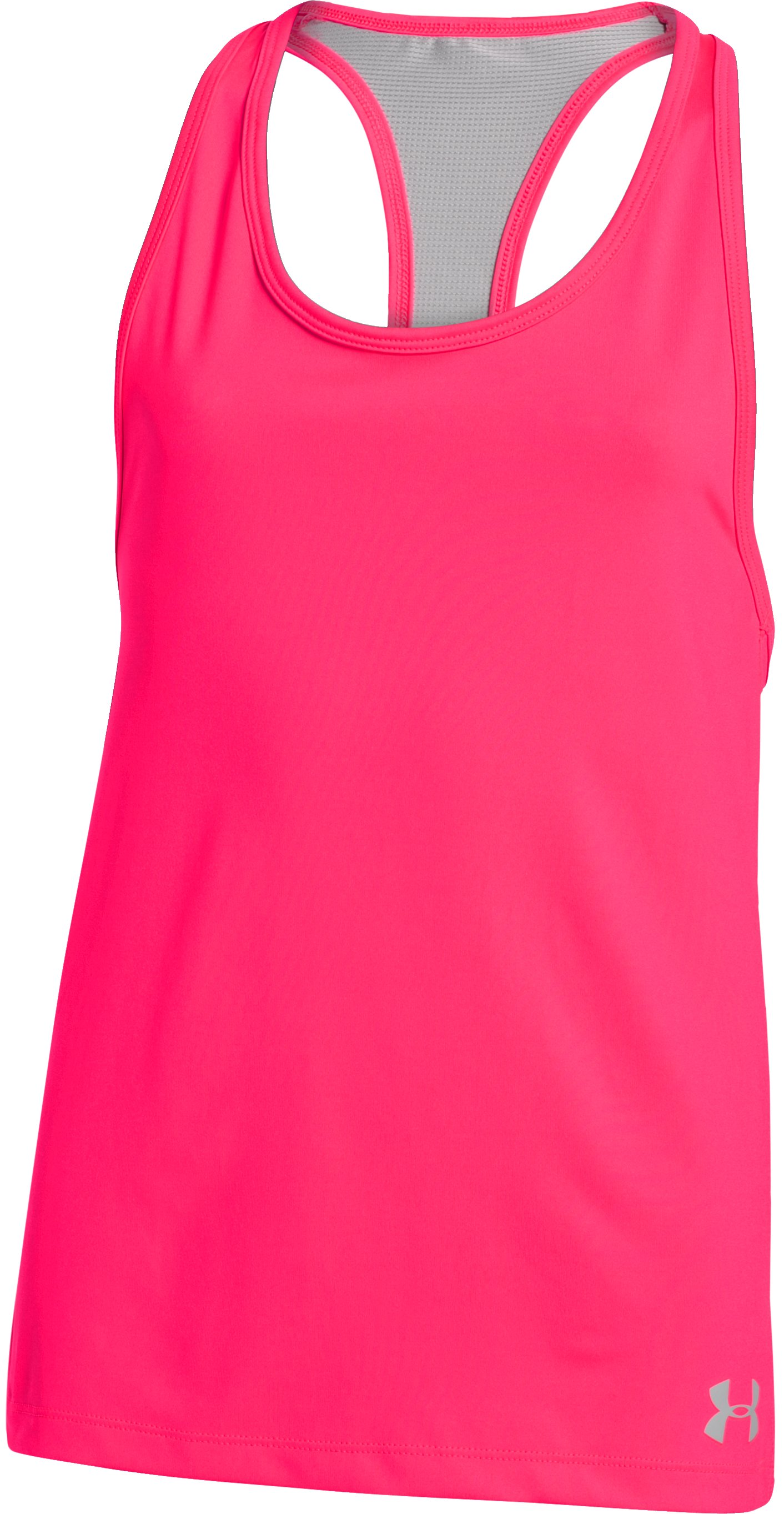 Girls' UA Luna Tank, HARMONY RED