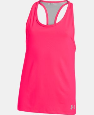 Girls' UA Luna Tank LIMITED TIME: FREE U.S. SHIPPING 7 Colors $13.49 to $17.99
