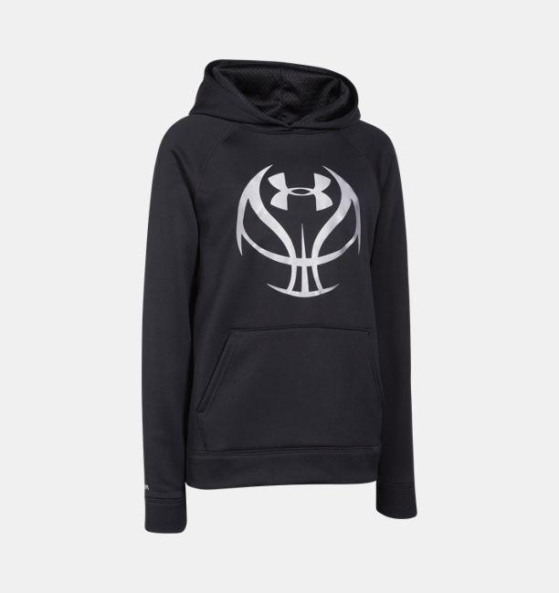 66de59702311 Boys  UA Storm Armour Fleece® Basketball Logo Hoodie