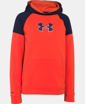 Boys' UA Storm Armour® Fleece Knit Hoodie  1 Color $41.99