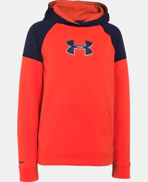Boys' UA Storm Armour® Fleece Knit Hoodie LIMITED TIME: FREE U.S. SHIPPING  $28.49 to $37.99