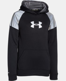 Boys' UA Storm Armour® Fleece Reflective Hoodie  1 Color $50.99